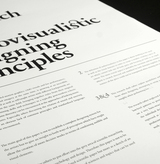 An Approach to Audiovisualistic Designing Principles