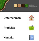 Webauftritt + CMS Tischlerei Weißenbacher