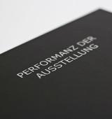 Masterthesis: Performanz der Ausstellung
