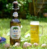 """Bier Branding """"Blue Nut Beer"""""""