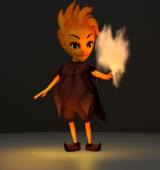 Fire Character - MMP1