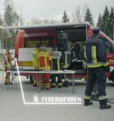 Übungssamstag der Feuerwehr Inzell