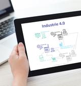 Wandel der Arbeit in Richtung des Zukunftskonzepts Industrie 4.0