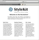StyleKit - Realtime Cross-Browser Styling