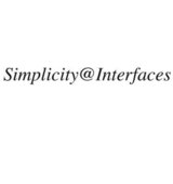 Simplicity@Interfaces